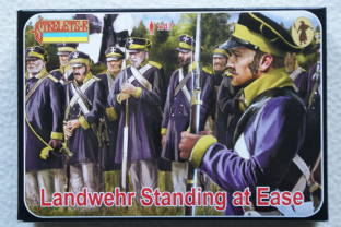 Strelets 1/72 ST0169 Prussian Landwehr Standing at Ease (Napoleonic)
